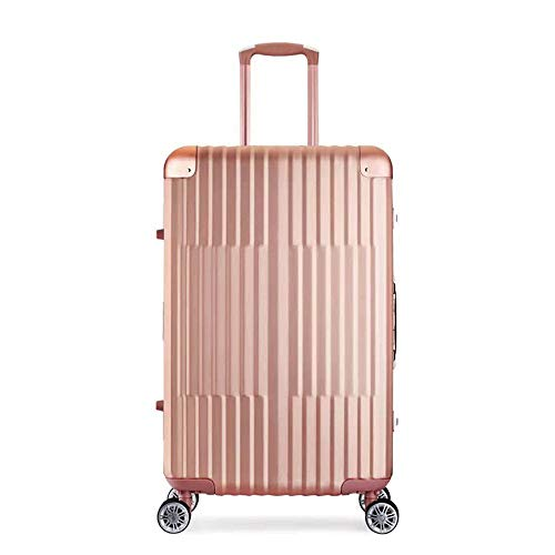 Ang-xj High-end all-aluminum-magnesium alloy trolley suitcaseFashion all-metal trolley luggage suitcase trolley case waterproof,wear-resistant,shipping box,boarding case