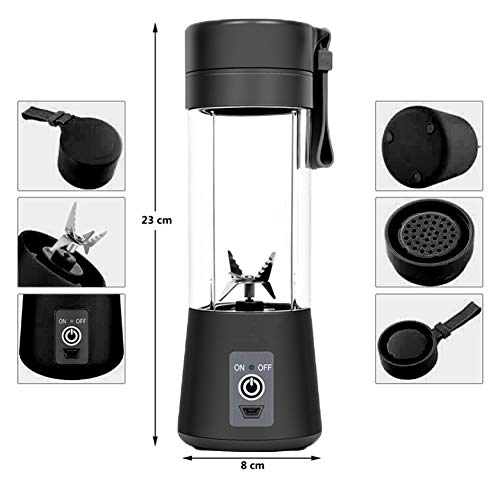 AUFELL juicer cup 380ml-black