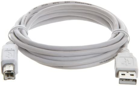 6 Foot USB 2.0 Male A/B Printer Cable