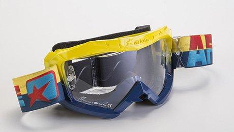 Brille Ariete MX 07Colors, Azzuro giallo