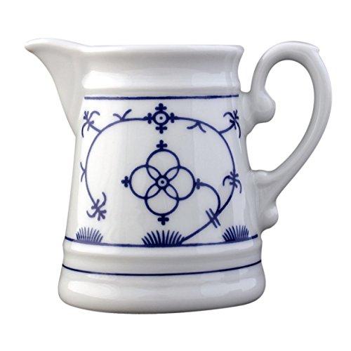 Eschenbach Porzellan Group Tallin Indischblau Gießer mit Henkel 0,20 L, Porzellan, Indigoblau, 1 x 1 x 1 cm