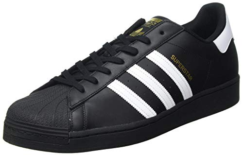 adidas Originals Mens Superstar Sneaker, Core Black/Footwear White/Core Black, 42 EU