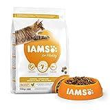 IAMS Vitality - Croquettes Super Premium Chats Adultes et Séniors Anti Boules de Poils - 100%...