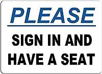 2個 サインインして座席を用意してくださいブリキサインメタルプレート装飾サイン家の装飾プラークサイン地下鉄メタルプレート8x12インチ メタルプレート レトロ アメリカン ブリキ 看板