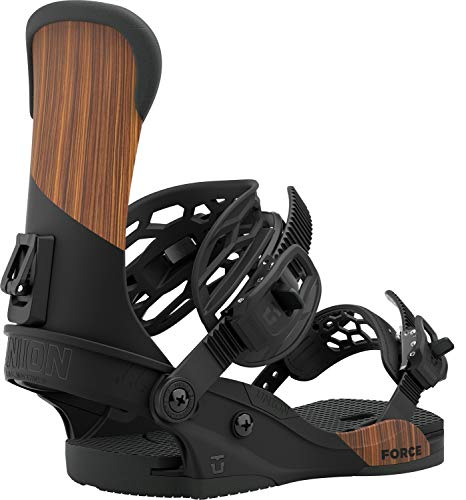 Union – Bindung für Snowboard Force Asadachi Herren – Größe M – Schwarz