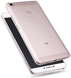 Xiaomi Mi Max Clear Case, iCoverCase Ultra Thin Clear Transparent Case Crystal Soft TPU Gel Skin Back Cover for Xiaomi Mi ...
