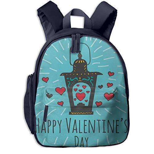Kinderrucksack Kleinkind Jungen Mädchen Kindergartentasche Liebe Wunschlaternen Backpack Schultasche Rucksack