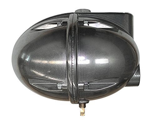 Automatic Float Drain for Compressed Air Tanks, Filters, Aftercoolers, Dryers - Float Operated Egg Drain/Football Drain - 1/2