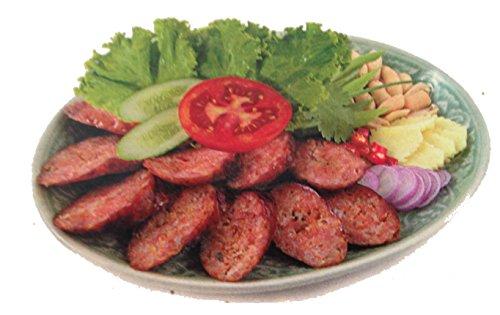 冷凍 酸味腸詰 ( 250g ) サイコイサーン SAIKOK ISAN CHAE タイ風ソーセージ 豚肉 調理 本場 本格 食材 プロ