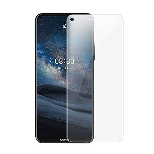 ONICO Bildschirm Schutzfolie für Nokia 8.3 5G,TPU Selbstheilend Anti-Bläschen 3D-Gebogenen Volle Bedeckung Folie kompatibel mit Nokia 8.3 5G [2 Stück]