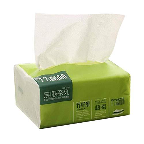 1 pak inheemse bamboe pulp pomppapier additief-vrije natuurlijke kleur huishouden toiletpapier wegwerp schoonmaak servet, China