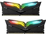 Team T-Force Night Hawk RGB 16GB (2 x 8GB) 288-Pin DDR4 SDRAM DDR4 3200 (PC4 25600) Memory (Desktop Memory) Model TF2D416G3200HC16CDC01 (White)