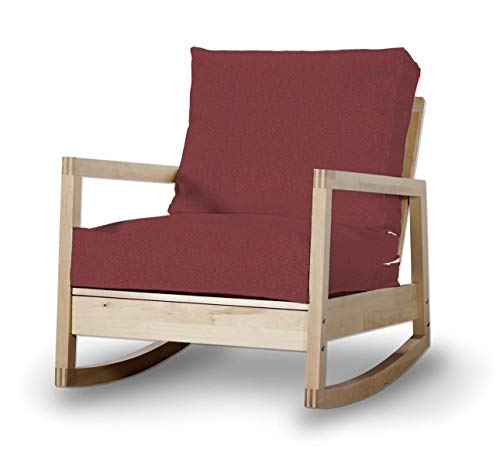 Dekoria Lillberg Sesselbezug Husse passend für IKEA Modell Lillberg Bordeaux