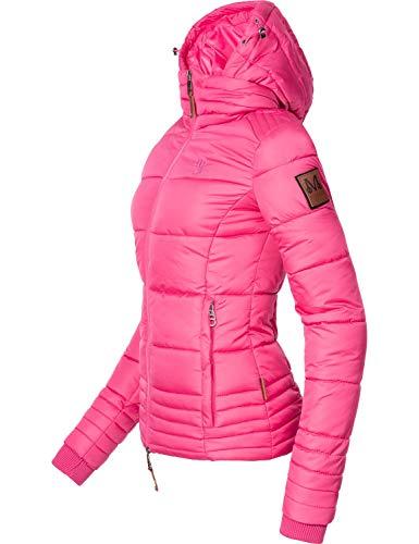 Marikoo Damen Winterjacke Stepp-Jacke Sole Pink Gr. M