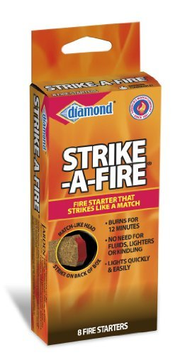 Best Bargain Diamond Strike-A-Fire Starters, by Pine Mountain, 96 Count
