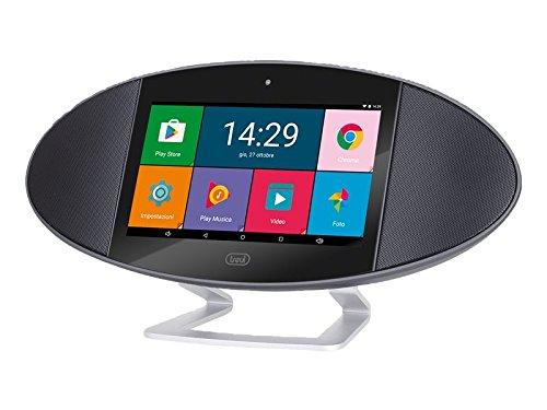 Trevi SOUNDPAD 360 Tablet PC Android Wi-Fi con Display da 7 pollici, Quad-Core 1.3 GHz ARM Cortex A7