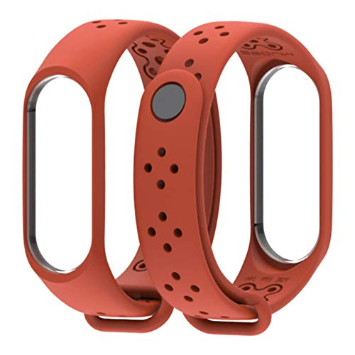 Para Mi Band 3 4 Correa pulserawach para xiomi Mi band3 4 accesorios pulsera inteligente deporte Correa de silicona para Xiaomi mi band 4 3