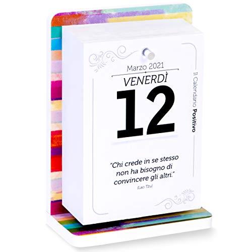 Calendario Positivo 2021 | Da Tavolo con Supporto | Affronta le Giornate col Sorriso, con...