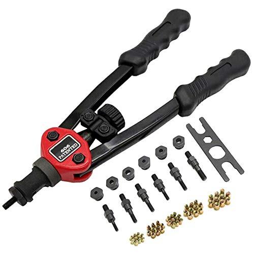 Aemiy - Juego de herramientas de remache automático, pistol