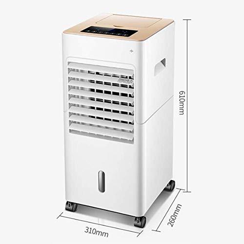 Ventilador Enfriador de Aire evaporativo Digital Potente y portátil con Tanque de 5 l teledirigido - con Filtro Antipolvo