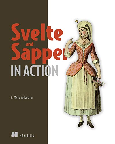 Svelte and Sapper in Action Front Cover