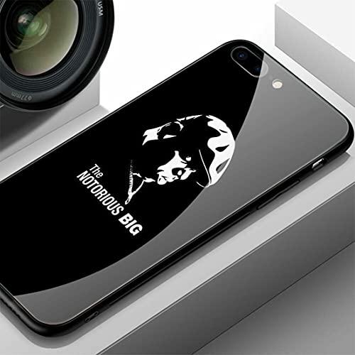 SNAKPALS Funda iPhone 7 Case & Funda iPhone 8 Case Soft TPU Bumper Tempered Glass Back Cover B EY O NC e T I N TH e P Ark Pattern-0082