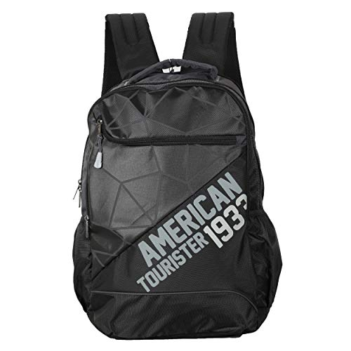 American Tourister Jazz Nxt-01 Backpack (Black)