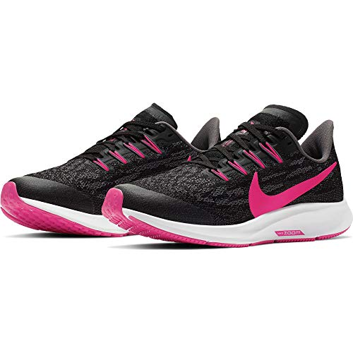 auditoría Rebotar Paraíso  Nike Air Zoom Pegasus 36 GS [AR4149-062] Kids Running Shoes Black/White/US  5.0Y- Buy Online in Greenland at greenland.desertcart.com. ProductId :  196497682.