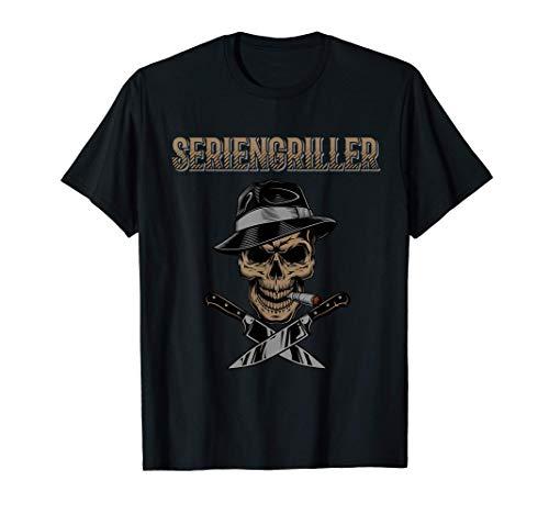 Seriengriller Grillen Griller Grillmeister T-Shirt
