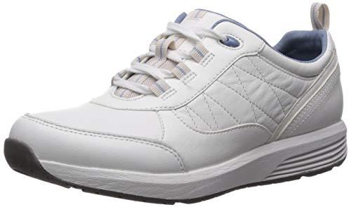 Rockport Women's Trustride W Sneaker, White, 7 M US