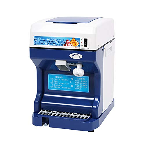 Professional Ice Machine, Electric Kegel van de sneeuw Machine voor Quick het malen van ijs, met grote capaciteit ontwerp, zelfs onder het ijs Het maken van Ice Crusher voor Huis