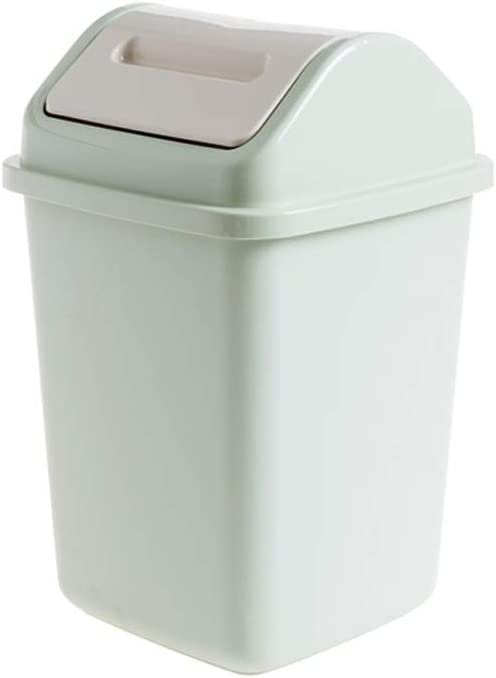 XDYNJYNL Long-awaited Shatter-Resistant 10L Shake Max 45% OFF Trash Can Cover Rectangular