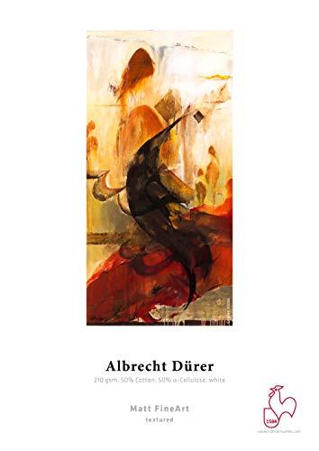 Hahnemühle 10640106 Digital FineArt Albrecht Dürer - Rollo de papel (210 g/m², 1118 mm x 12 m), color blanco