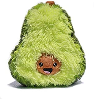 Avokadoo - Avocado Pillow - Kawaii Fun Stuffed Fruit Plush - Cute Mini Avocado Shaped Toy for Boys and Girls - Perfect Present for Any Occasion - 7 inch