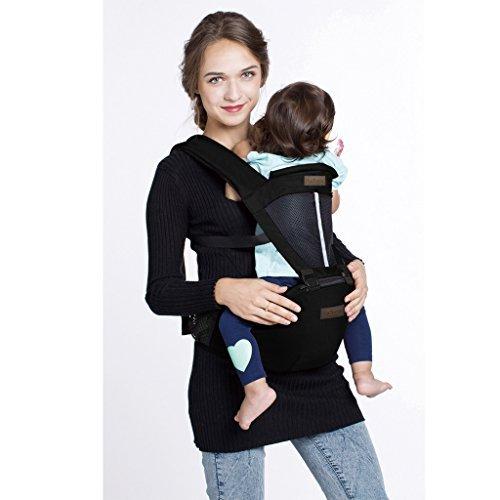 LaNova 抱っこ紐 赤ちゃんの姿勢とママの負担を軽減させるために作られた新しい抱っこひも