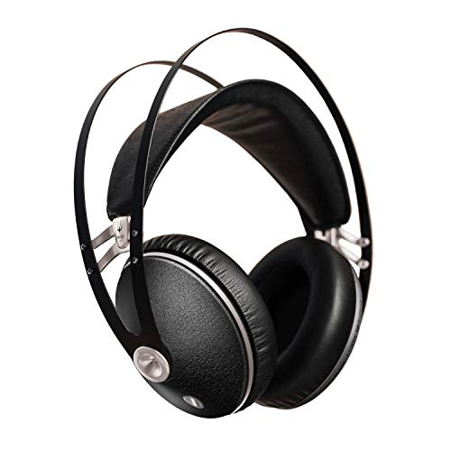 Meze 99 Neo | Wired Over-Ear Headphones with Mic and Self Adjustable Headband | Closed-Back Headset for Audiophiles | Gaming | Podcasts | Home Office