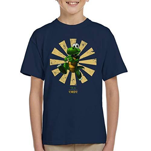 Croc Retro Japans T-shirt voor kinderen
