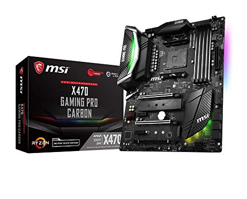 MSI X470 Gaming Pro Carbon - Placa Base AMD X470 Chipset