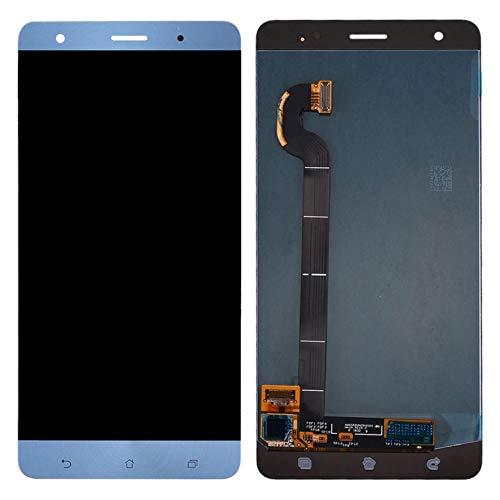 MOVILSTORE Pantalla LCD + Tactil Digitalizador Compatible con ASUS Zenfone 3 Deluxe ZS570KL Azul