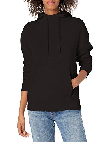 Vince Women's Essential Hoodie, Black, XX-Small