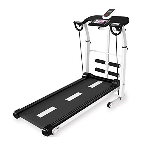 Great Deal! CHENNAO Aerobic Training Machines Treadmill Home Weight Loss Folding Treadmill Multi-Fun...