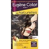 Eugène Color Crème colorante permanente, nutriprotectrice, 3 châtain clair - La boîte de 115ml