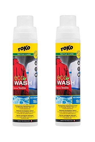 Toko 2 x Eco Textile Wash 250 ml - Spezialwaschmittel