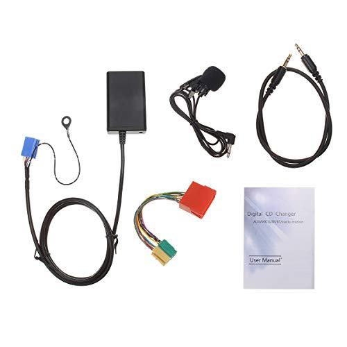 Wooya Adaptador De Audio Bluetooth Micrófono De Manos Libres para Audi A2 A3 8L 8P A4 B5 B6 B7 A6 4B A8 4D
