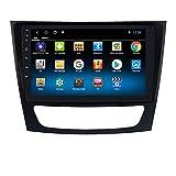 hizpo Autoradio Bluetooth para Mercedes-Benz E Class W211/ CLS-Class W219/ G-Class W463 Android 10 Control del Volante Wi-Fi 1+16GB Cámara Trasera Dab+ DVR Enlace de Duplicación Radio FM/USB/OBD2