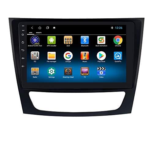 hizpo Autoradio Bluetooth Dab per Benz E Class W211/ CLS-Class W219/ G-Class W463/ 1+16GB Autoradio WiFi GPS Ricevitore Radio FM Link Specchio Controllo del Volante DAB+ /FM/USB/OBD2/DVR