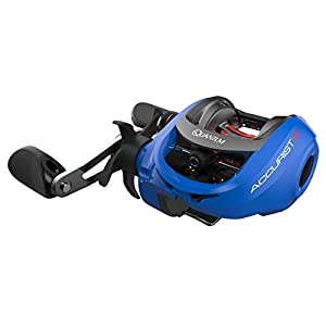 Quantum Accurist S3 PT Baitcast Fishing Reel, 8+1 Bearings, 7.0:1 Gear Ratio, Right Hand