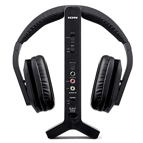 ION Audio Telesounds Wireless Headphone System for TV with Optical Input