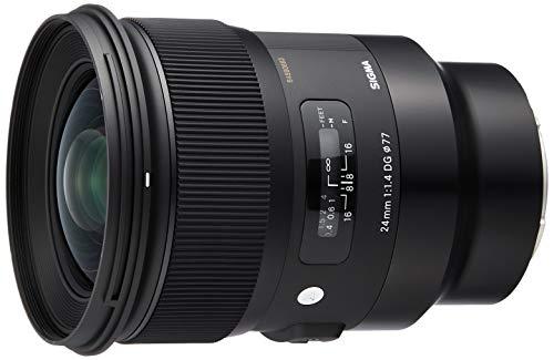 Sigma 24mm F1,4 DG HSM Art Objektiv (77mm Filtergewinde) für Sony-E Objektivbajonett