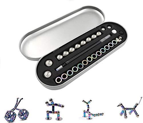 Bolígrafo magnético, juguete de combinación interesante, maravilloso bolígrafo magnético, juguete para regalo, lápiz capacitivo, regalo de cumpleaños para niño